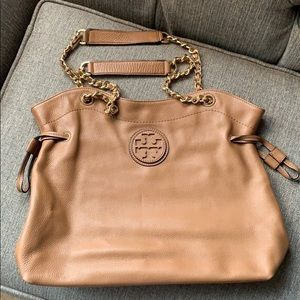 Tory Burch pebbled leather bag